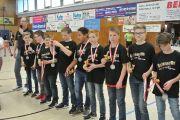 männliche D Jugend 2017 - Verleihung der Bezirksmeistermedaille